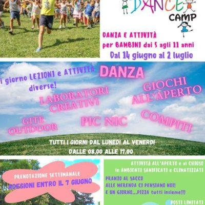 SUMMER DANCE CAMP 2021!
