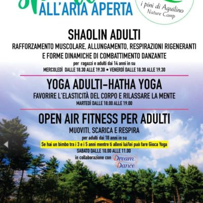 OPEN AIR FITNESS
